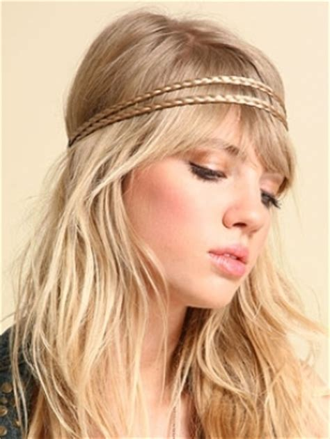 headband casual hairstyles trendy headband styles for 2011 fashionizers com