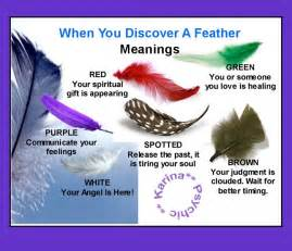 feather color meanings need to more