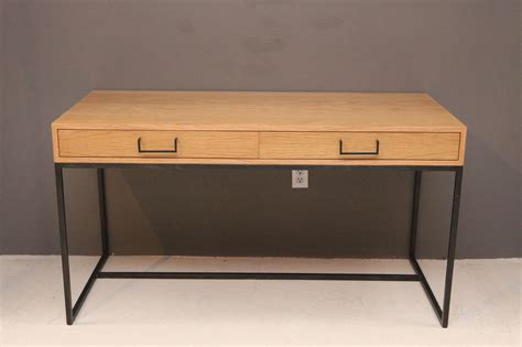 thin frame desk by lawson fenning in oak for sale at
