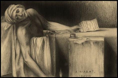 jean paul marat bathtub the death of marat by sparkypoo on deviantart