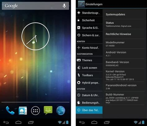 paranoid android tab tested out paranoidandroid custom rom with many possibilities androidpit