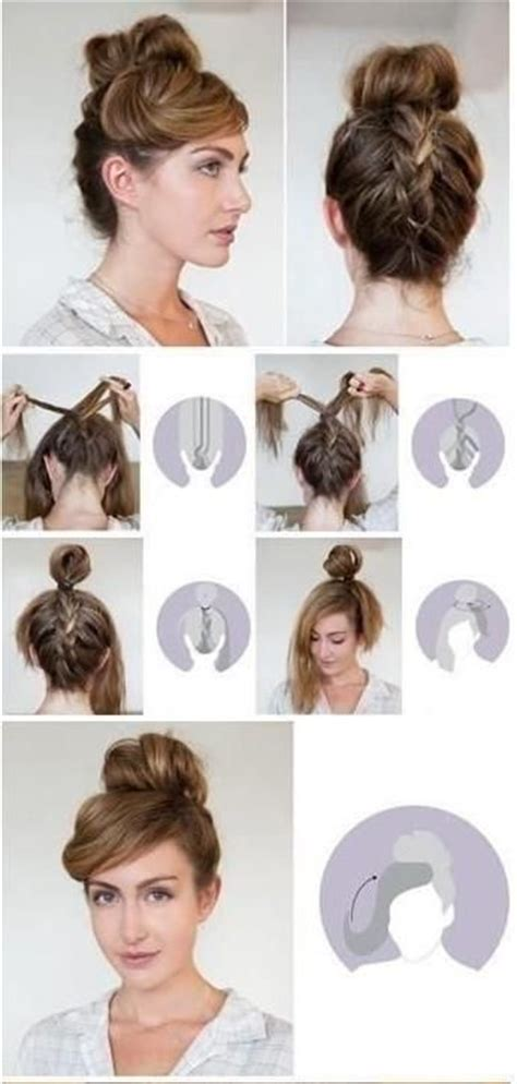cool step by step hairstyles 7 easy step by step hair tutorials for beginners pretty