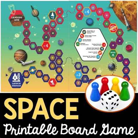 printable science board games 26 best images about space on pinterest solar system