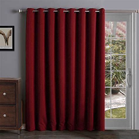 insulated patio door curtains sliding barn door panels thermal insulated blackout