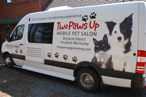 mobile groomer pered pet mobile mobile pet groomers mobile autos