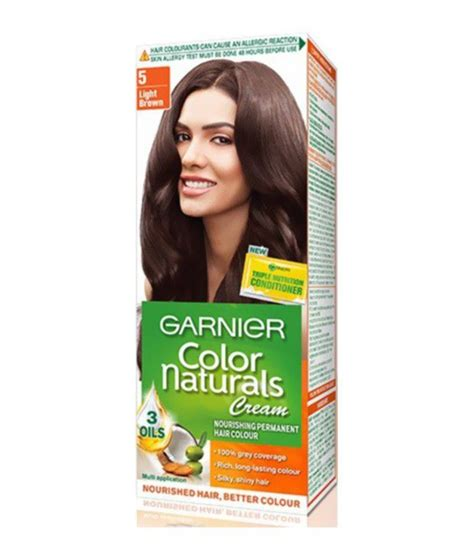 Garnier Color Naturals 60ml garnier color naturals shade 5 light brown hair color