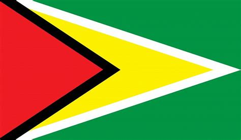 what are the colors of the flag what do the colors and symbols of the flag of guyana