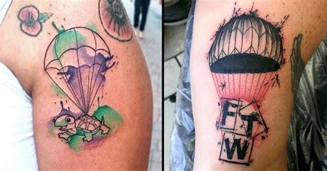 parachute tattoo designs hold on tight these 10 parachute tattoos tattoodo