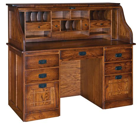 roll top desk corner roll top desk fifth avenue executive amish corner