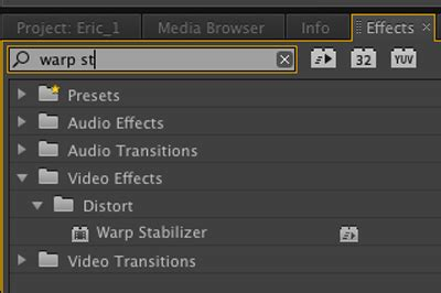 adobe premiere cs6 warp stabilizer a quickstart guide to new adobe premiere cs6 features