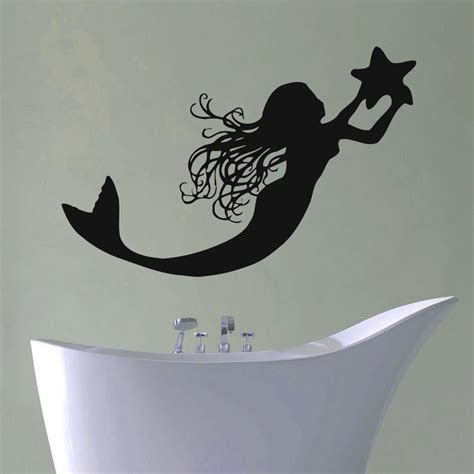 Mermaid Decor Bathroom by Popular Mermaid Bathroom Decor Buy Cheap Mermaid Bathroom