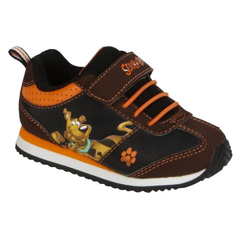 brown athletic shoes character toddler boy s scooby doo athletic shoe brown