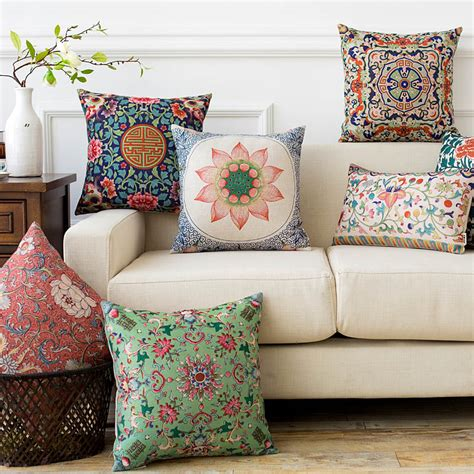 buntes sofa popular traditional decorative pillows buy cheap