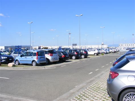Parking Lot Car file aeroporto di firenze parking lot for rental cars