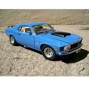 Ford Mustang 1970 Boss 429 Motormax Diecast Model Car 1/18