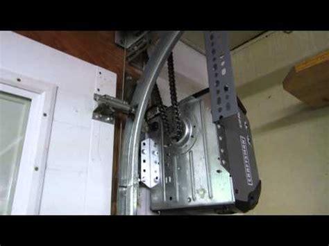 Zero Clearance Garage Door Opener Garage Door With Less Than Zero Headroom Track Is 5 I Doovi