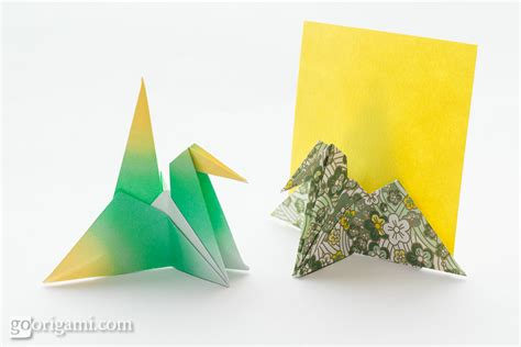 Origami Card - origami animals and characters gallery go origami