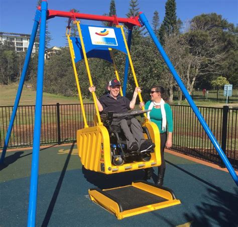 liberty swing macquarie liberty swing opens on town reserve