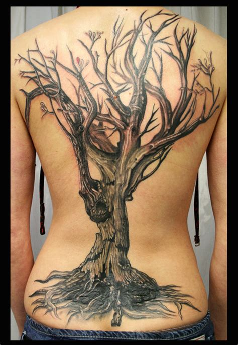old tree tattoo designs tree by bogdanpo on deviantart