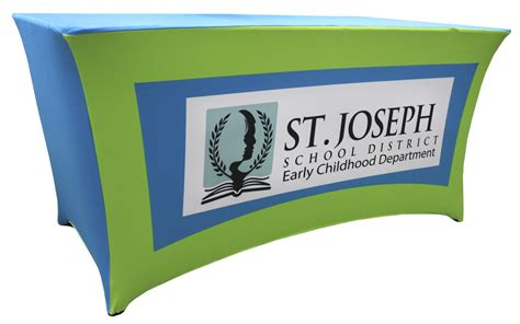 Table Banner by Contoured Spandex Table Banners Olympus