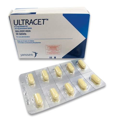 Tramadol Shelf by Ultracet Dosage Information Mims Malaysia