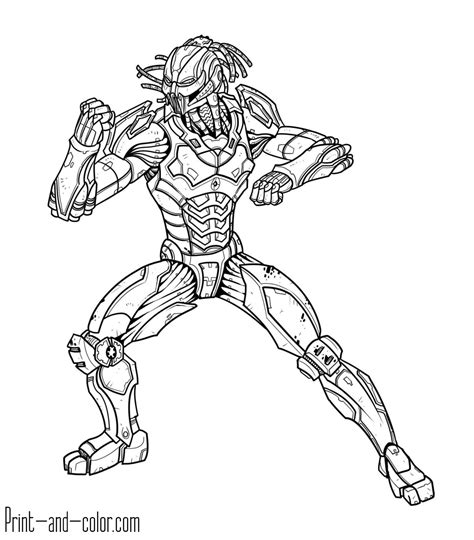 Pages To Print And Color mortal kombat coloring pages print and color