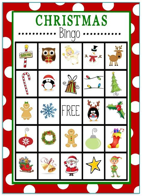christmas bingo cards for large groups christmas lights