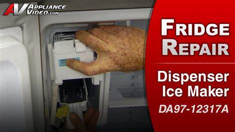 maker motor not turning samsung rf263teaesr refrigerator appliance
