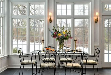 Dining Room Windows 55 Awesome Sunroom Design Ideas Digsdigs