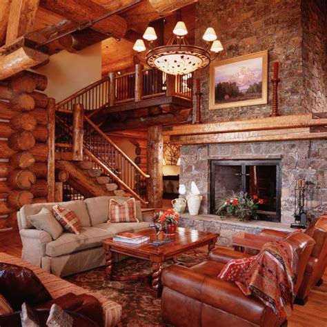 granite ridge log cabin teton heritage builders