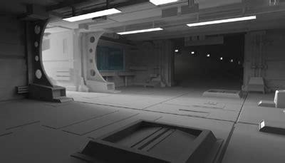3d garage sci fi garage 3d max