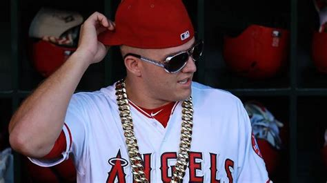 mike trout and the toasted david ortiz by wearing