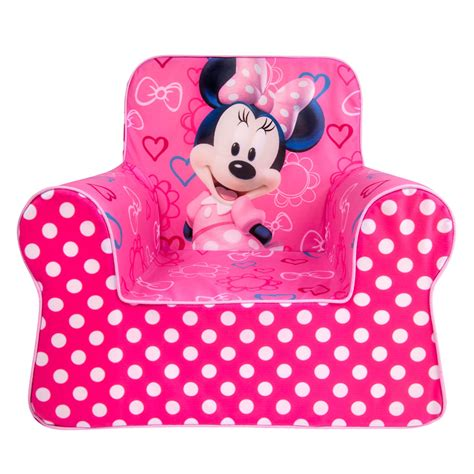 minnie mouse recliner spin master marshmallow furniture marshmallow comfy