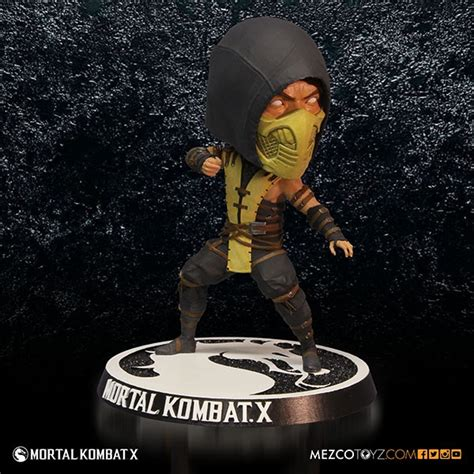 x bobblehead mezco reveals official mortal kombat x plush and