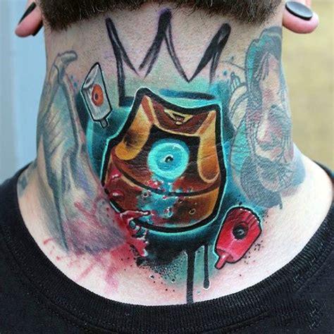 tattoo flash painting techniques 80 graffiti tattoos for men inked street art designs