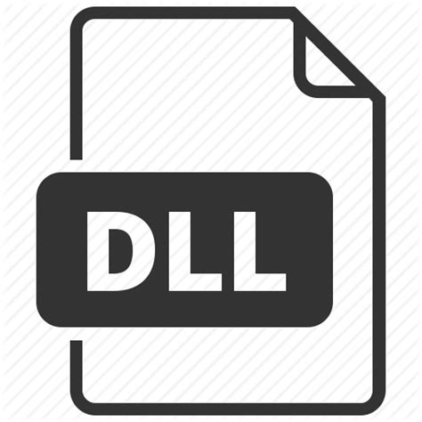 format file dll dll dynamic link library file format icon icon search