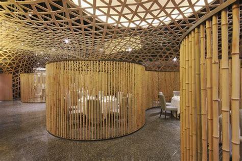 design interior cafe dari bambu dise 241 o y decoraci 243 n de restaurant con bamb 250 arte y