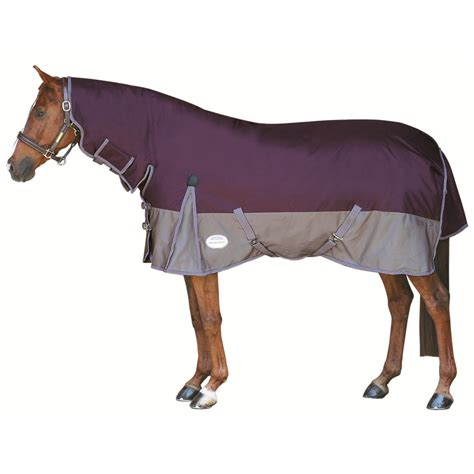 weatherbeeta heavyweight turnout rug weatherbeeta taka original heavy fixed neck combo turnout rug purple silver redpost equestrian