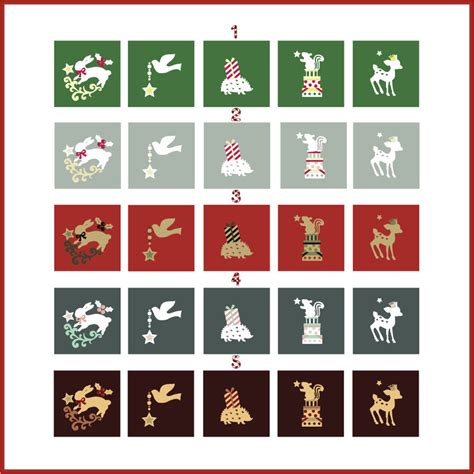 christmas woodland creatures color schemes by monostache