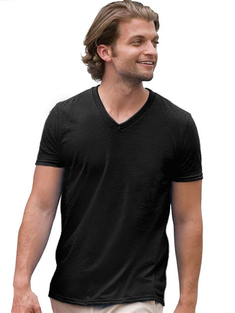 Tshirt V fitted v neck t shirt for designers
