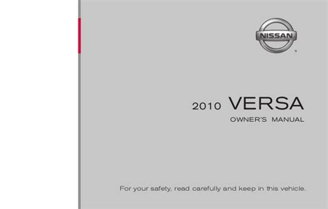 old car owners manuals 2010 nissan 370z user handbook 2010 versa owner s manual