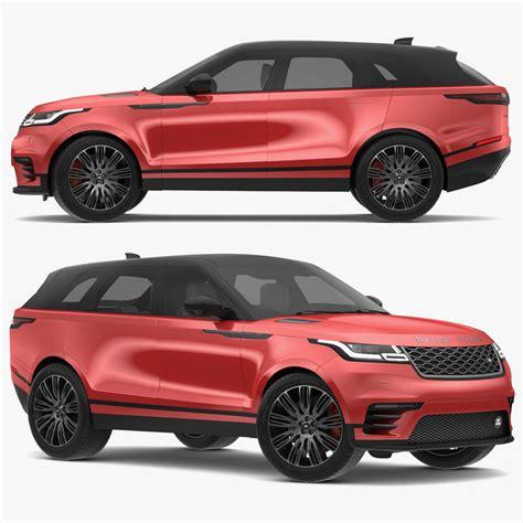 land rover 2018 models 2018 land rover range 3d model turbosquid 1241823