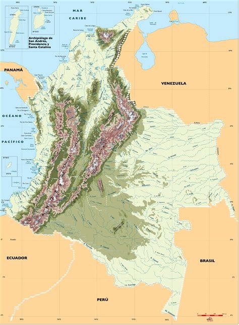 imagenes satelitales de colombia mapa hidrografico 187 blog archive mapa rios de colombia