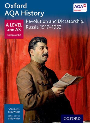 libro oxford aqa history for oxford aqa history for a level revolution and dictatorship russia 1917 1953 oxford university