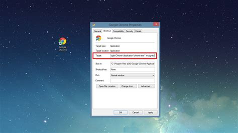 Chrome Incognito Shortcut | launch chrome in incognito mode with a custom shortcut
