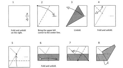 How To Fold A Paper Pyramid - origami origami pyramid