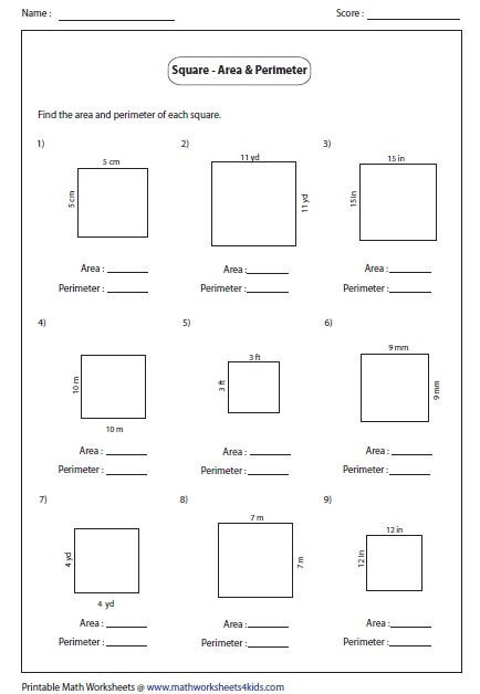 free printable area worksheets grade 3 rectangle worksheets