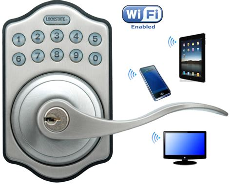 Wifi Front Door Lock Manual Locked Deadbolts Locks
