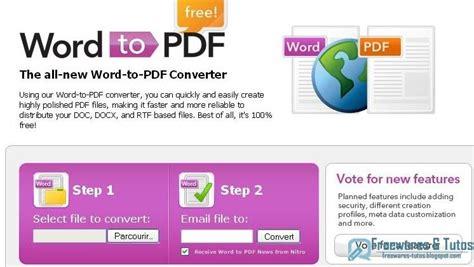 convert pdf to word gratuit en ligne word to pdf un service en ligne pour convertir les