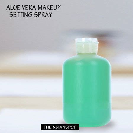 diy makeup setting spray aloe vera the world s catalog of ideas
